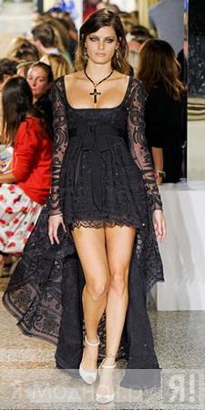 Кружевные платья - такие волшебные, полностью из кружева или с кружевным...