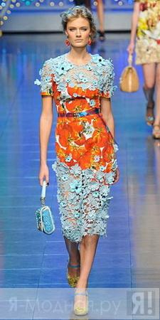фасоны платья плиссе
