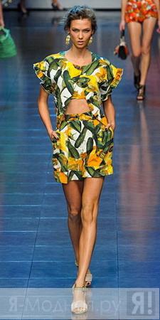 красивые летние платья 2012 фото