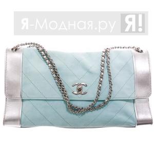В одной сумке прекрасно сочетаются текстиль, кожа различной выделки...