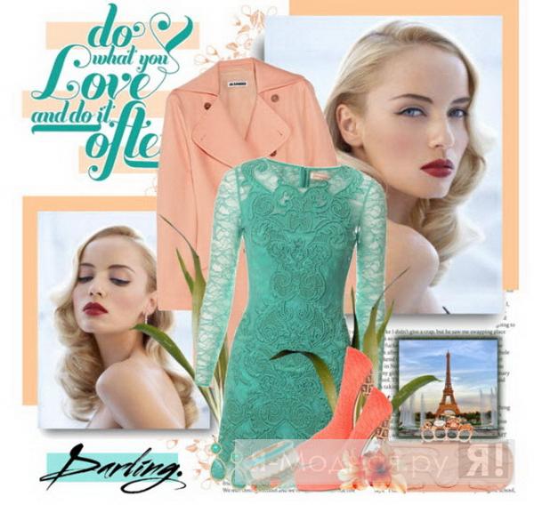Один из хитов в 2012 году будет мини-платье с длинными рукавами.