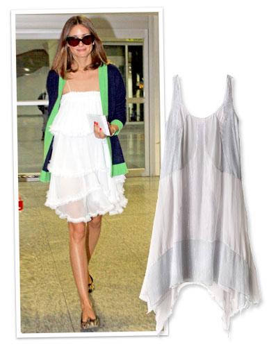 Летнее платье для худеньких.