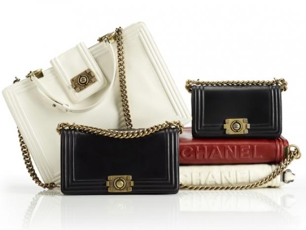 ...сумки из новой линии Chanel с весьма интересным названием boy bag.