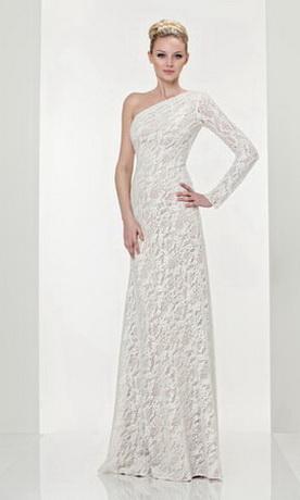 Стильные свадебные платья 2012.