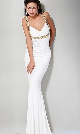 Vujar.  26469 байтДобавлено.  Белые вечерние платья 25 фото.