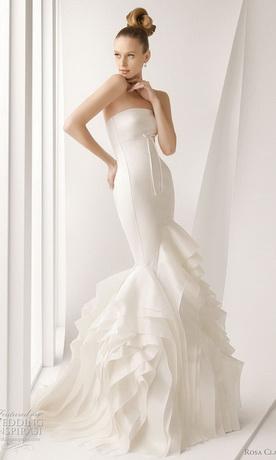 Самые красивые свадебные платья-2011