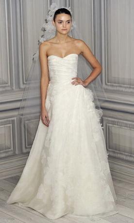 Модные свадебные платья 2012.
