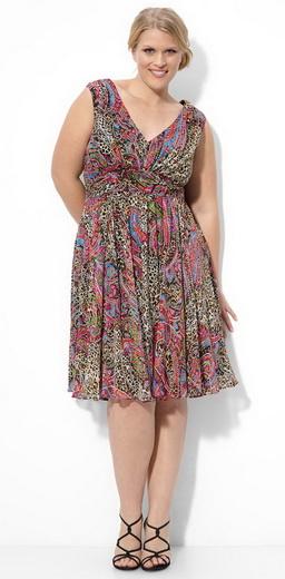 красивые трикотажные платья