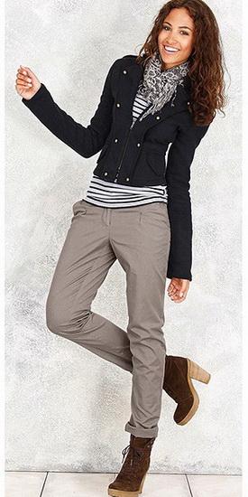 Женские брюки - с чем носить осенью и зимой.