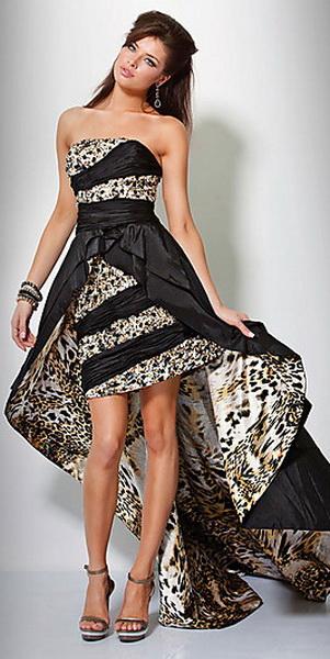 Модные платья со шлейфом.  Прочитать целикомВ.