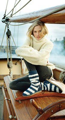 как связать воротник свитера
