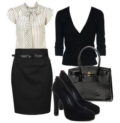 Описание: Офисный Стиль Одежды + Деловой Макияж.