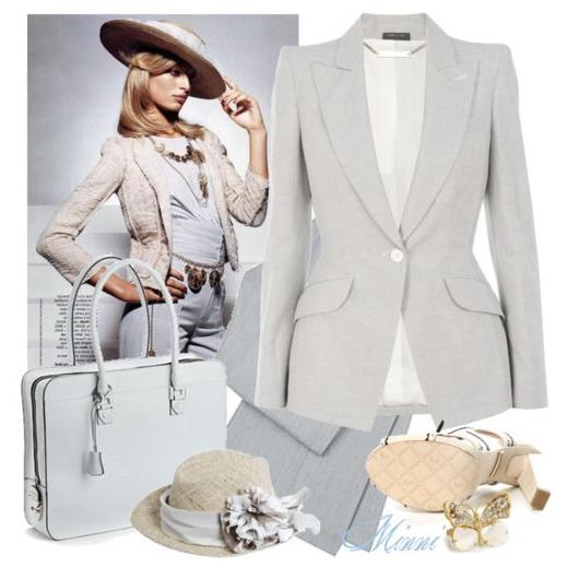 Деловой женский костюм: Шанель навсегда.