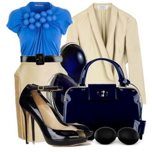 Костюм от Шанель стал символом того поколения: из твида, с узкой юбкой...