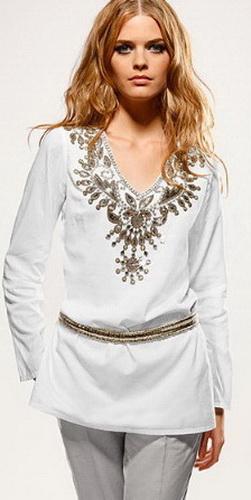 Блузка топ майка рубашка 2011