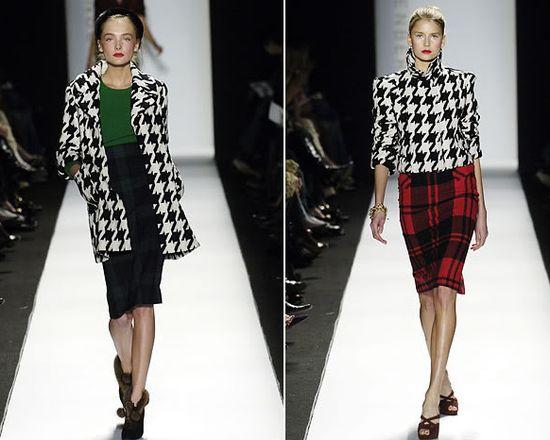 """Одежду в  """"гусиной лапке """" в осенне-зимнем сезоне 2012-2013 можно было встретить практически на каждом показе."""