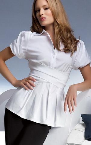 Как быстро сшить летнюю блузку без выкройки Шьем 54