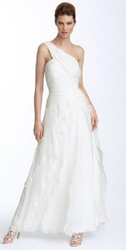 Фото длинных платьев в пол.