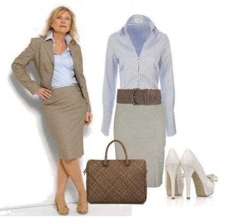 Костюм незаменимая вещь бизнес леди