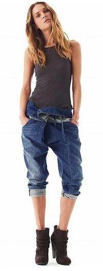 Дерзкий вызов и рафинированная элегантность джинсового стиля.