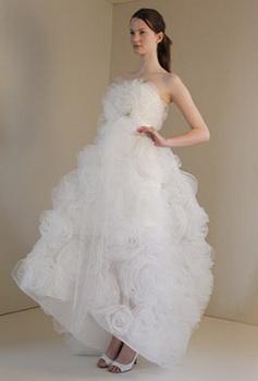 Модные пышные свадебные платья (2012.
