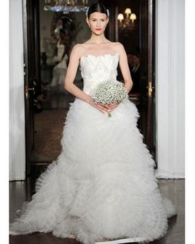 Пышные свадебные платья 2011 фото и цены.