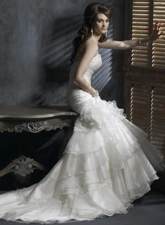 Модные свадебные платья 2011 160 фото