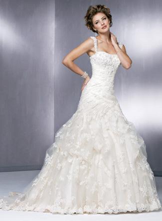 Пышное свадебное платье Poppy.