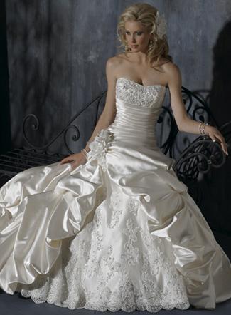 очень пышные свадебные платья фото.
