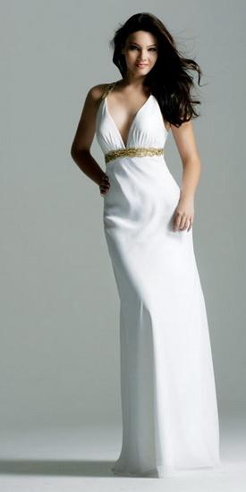 Свадебное платье в стиле ампир, пошив на заказ. label-1