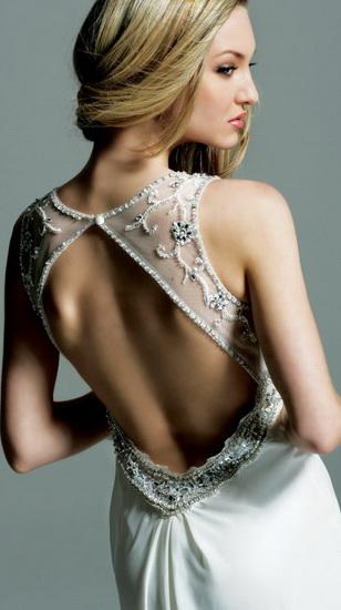 ...свадебные платья 2011 года.