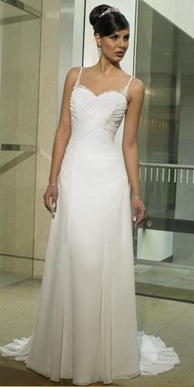 свадебное платье в греческом стиле.