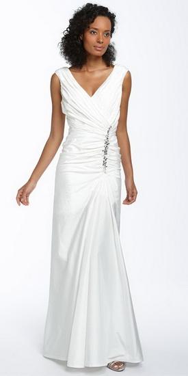 Модели свадебных платьев в греческом стиле (фото)