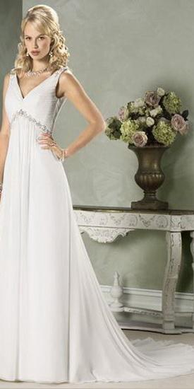 Свадебные платья греческом стиле.