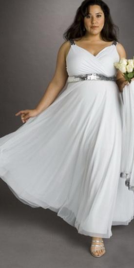 Платья для полных: модели.