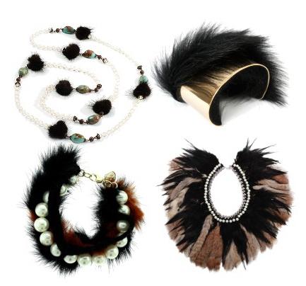 Кроме этого из меха изготавливают самые различные аксессуары: шапки...