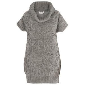 зимние вязаные платья фото, вязан кофти и вязаные модели из мохера.