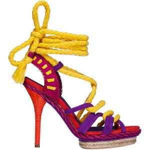 Модная обувь весна - лето 2011