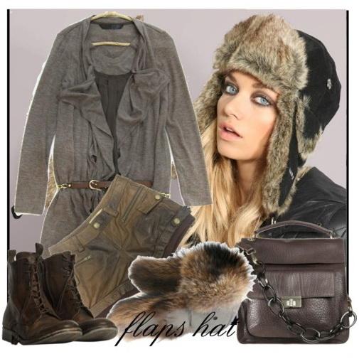 зимние женские меховые шапки ушанки.  Автор:Admin.