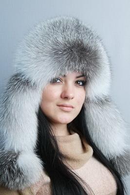 шапка ушанка женская меховая - Сумки.