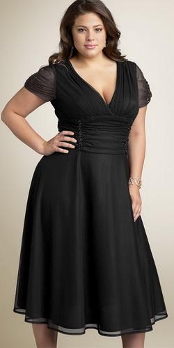 Платье для полных девушек - платья для полных женщин фото.