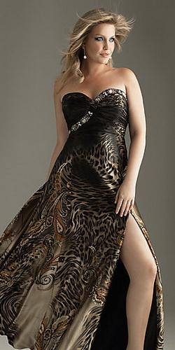 Платья для полных - фото.