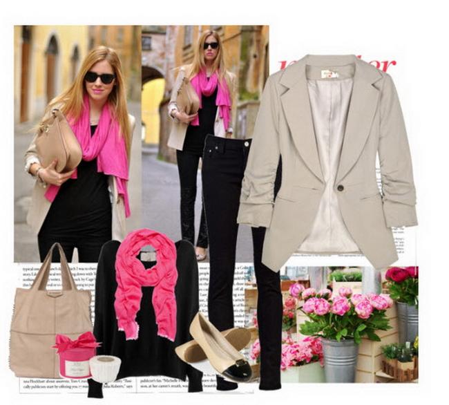 Нежно-розовый цвет оказался в числе самых модных колеров осеннего сезона.