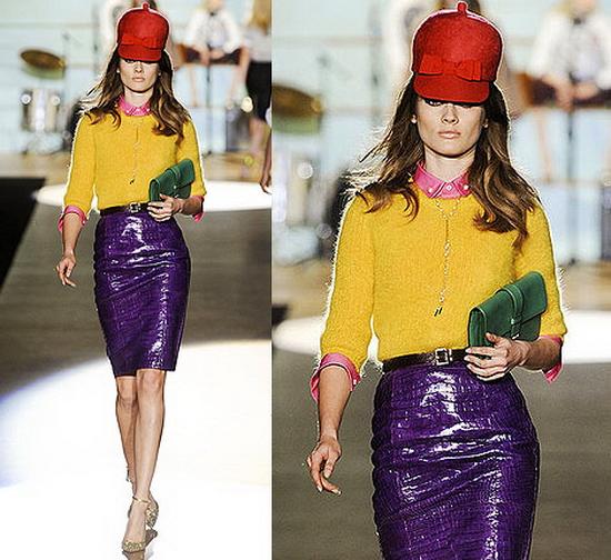Модная одежда осени 2012 зимы 2013