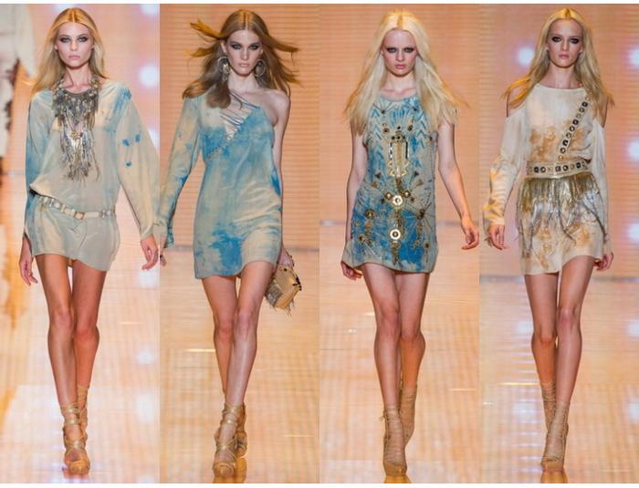 Модное платье весна лето 2013